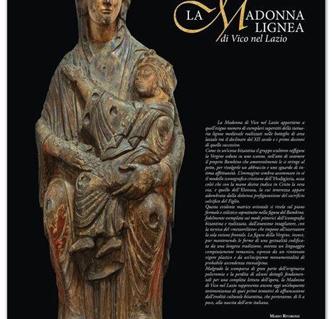 La Madonna lignea del XIII secolo a Vico nel Lazio (FR).