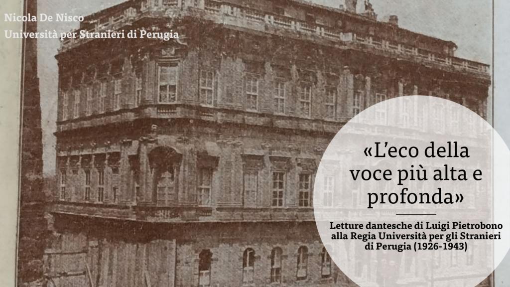 Luigi Pietrobono negli archivi dell'Università per stranieri di Perugia-01