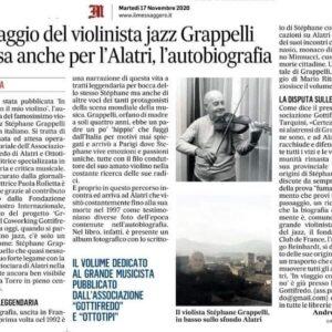 Il viaggio del violinista jazz Grappelli